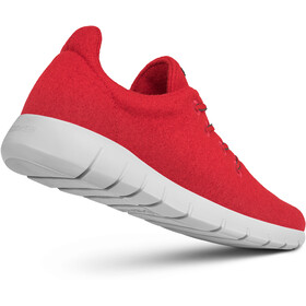Giesswein Merino Wool Buty do biegania Mężczyźni, flame red